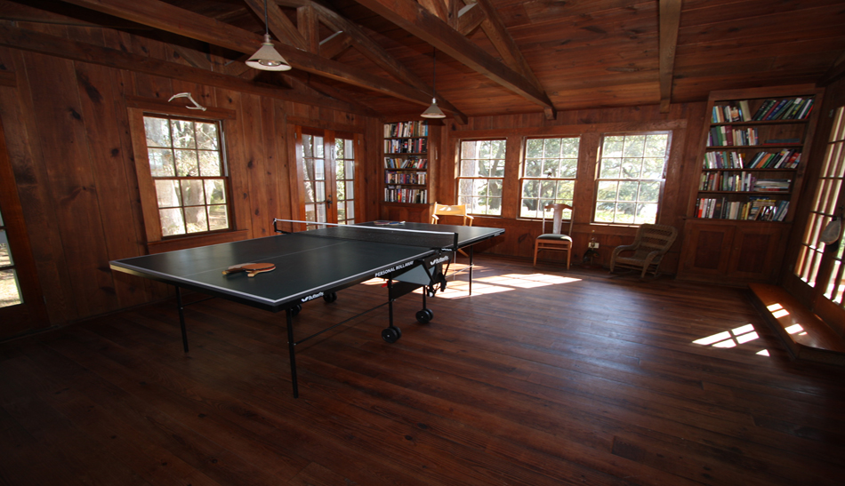 Tilghman-Boyce Cottage Game Room