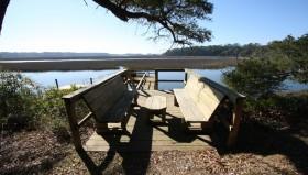 Tilghman-Boyce Cottage Dock View